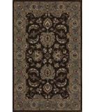 RugStudio presents Dalyn Jewel Jw37 Chocolate/Spa Blue Hand-Tufted, Good Quality Area Rug